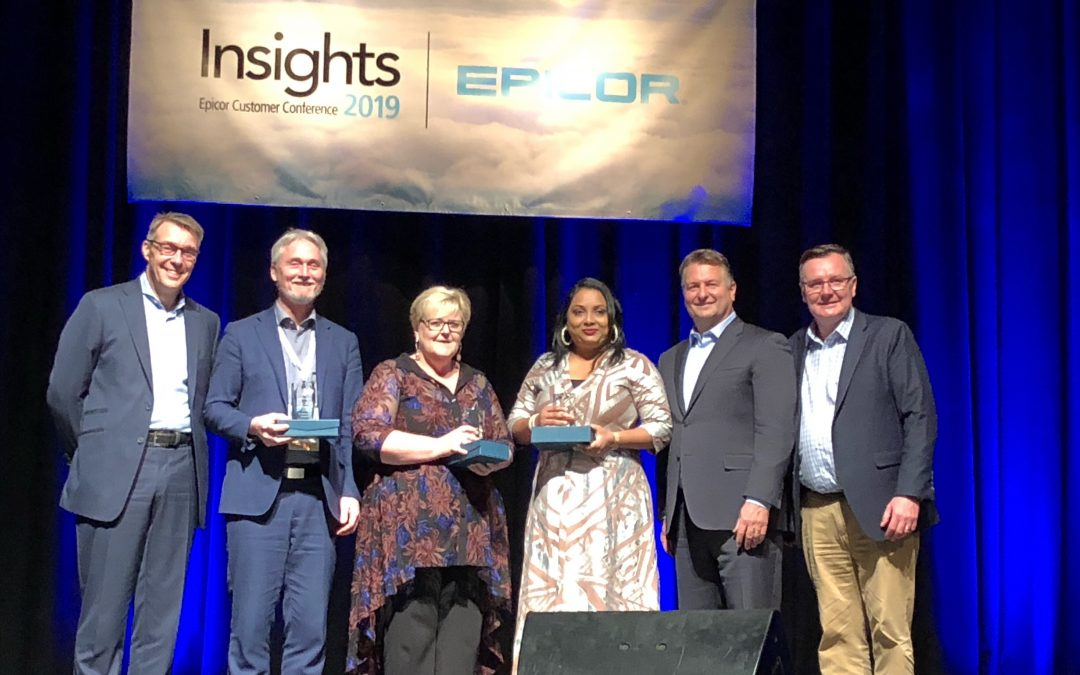 Precise customers scoop the pool at Epicor Customer Awards 2019
