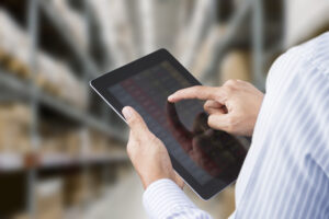 Stock management in a warehouse